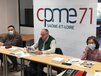 Confiance renouvelée pour Thierry Buatois à la tête de la CPME Saône et Loire
