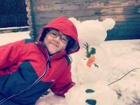 L'heure au bonhomme de neige sur la région de Chalon sur Saône