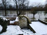 Le niveau de la Saône  repart à la hausse à Chalon