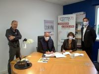 Aesio s'inscrit en qualité de partenaire de la CPME Saône et Loire