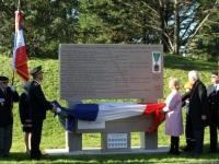 Inauguration du mémorial départemental des Compagnons de la libération à Buxy
