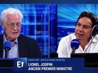 """Pour Lionel Jospin, invité d'Europe 1, """"Macron n'est pas inscrit dans l'Histoire, il est le produit d'un moment"""""""
