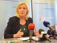 A Chalon sur Saône, Marine Le Pen annonce la Bourgogne-Franche Comté dans le top 3 des régions gagnables