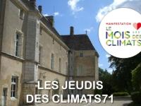 Coup d'envoi des «Jeudis des climats 71» ce 8 juillet à Germolles