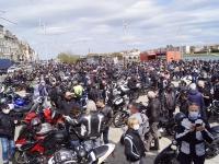 MOTARDS EN COLERE - La foule des grands jours pour le rassemblement du jour en Saône et Loire