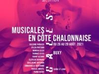 20ème édition festival Musicales en Côte Chalonnaise du 26 au 29 août