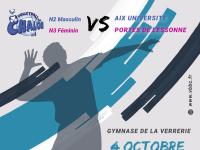 Le Volley-ball Chalon vous donne rendez-vous ce dimanche au gymnase de la Verrerie