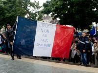A Dijon, un millier de manifestants contre le pass sanitaire