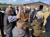 REGIONALES -  Gilles Platret (Les Républicains) prône plus de volontarisme pour les éleveurs et les agriculteurs