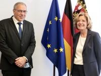 Maison de Bourgogne-Franche-Comté en Rhénanie-Palatinat : Premières rencontres entre élus des deux régions partenaires à Mayence(Allemagne)