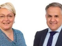 DEPARTEMENTALES - CANTON DE CHAGNY - Sylvie Trapon et Sébastien Laurent insistent sur leurs engagements de candidats