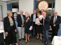 Le Rotary Chalon Bourgogne Niépce aide la Ligue contre le Cancer