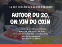 Reprise de l'évènement «Autour du 20, un vin du coin» en présentiel dès le mois de juin