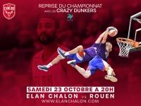 Les gagnants des places pour Elan Chalon / Rouen sont