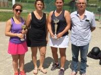 Belle ambiance pour le Tournoi d'été du Tennis Club Rully