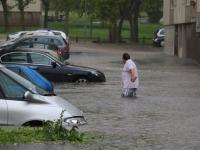 INTEMPERIES - Un vrai déluge s'est abattu sur Autun ce mercredi en fin d'après-midi