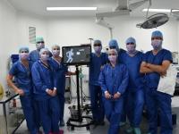Première au centre othopédique de Dracy le Fort : Une prothèse du genou implantée grâce à la réalité augmentée