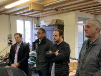 Lancement de campagne du parti d'Arnaud Montebourg en Saône et Loire