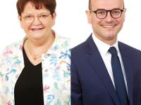 DEPARTEMENTALES - Sébastien Martin et Dominique Lanoiselet, réélus