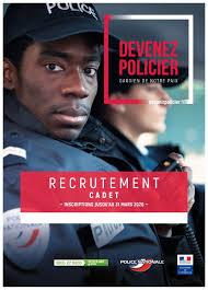 Les cadets de la République de la police nationale : leur recrutement est d'actualité !