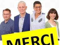 DEPARTEMENTALES - CHALON1 - Les remerciements d'Alain Gaudray et Dominique Melin