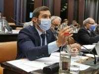 """Julien Odoul (Rassemblement National) revendique la """"première force d'opposition et de la proposition  à la région"""""""