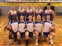 Le Chalon Basket Club de retour en Nationale 3 féminine