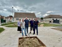 Reconquête des espaces publics de l'Allée des Charmes à Granges, un projet co-construit avec les habitants et dont les travaux viennent de commencer