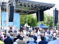 PRESIDENTIELLE 2022 - Arnaud Montebourg a ravivé la flamme de Frangy en Bresse