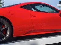 La Ferrari 458 a terminé sa course... confisquée pour excès de vitesse sur les routes de Saône et Loire