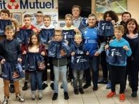 Remise de shorts au Rugby Club de Givry