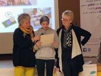 L'association givrotine « Le Rêve de Marie dream » donne près de 60 000 euros pour la lutte contre le cancer pédiatrique