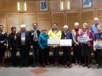 La commune de Saint-Rémy s'implique régulièrement pour les œuvres caritatives!