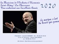 Le calendrier de l'Orchestre d'Harmonie de Saint-Rémy / Les Charreaux est en cours de distribution