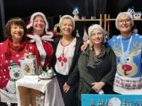 Grosse affluence sur le marché de Noël de Givry