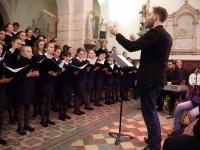 Le chœur de La Maîtrise Chalonnaise Saint-Charles a fait vibrer le cœur du public!