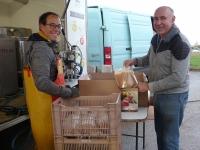 À Varennes-le-Grand, on fait du jus de pomme pour une bonne action!