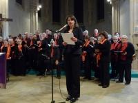 Dans l'église de Varennes-le-Grand, deux chœurs ont chanté Noël avec ferveur !
