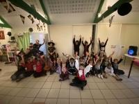 Au centre de loisirs d'Epervans, les enfants ont joyeusement exprimé leur créativité sur le thème des friandises!