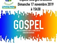 Pensez à réserver vos places pour le concert de la Chorale Gospel !