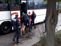 185 personnes contrôlées dans les bus  à Mercurey - 6 en possession de stupéfiants