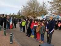 Crissey, Saint-Rémy, Fragnes-La Loyère... toutes les communes du Grand Chalon ont rendu hommage aux morts pour la France