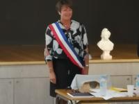 MUNICIPALES - Joëlle Schwob installée à la tête de Châtenoy en Bresse