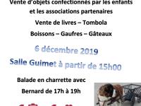 TELETHON 2019 - Vente d'objets confectionnés par les enfants à Demigny