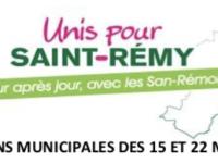 MUNICIPALES - « Mon avis pour Saint-Rémy », la consultation citoyenne d' « Unis pour Saint-Rémy » est lancée.