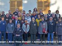 MUNICIPALES - A saint Marcel, Christine Louvel lève le voile sur la liste Avec Vous Demain