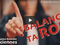 Des avocats reprennent « Balance ton quoi » d'Angèle dans un clip contre la réforme des retraites