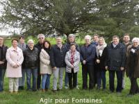MUNICIPALES -  Claude d'Aix et Agir pour Fontaines annoncent liste et programme