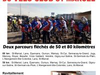 Brevet cycliste du Vélo-Club de Saint-Marcel ce samedi