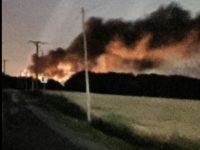 Au SMET de Chagny, les déchets ont brulé jusque tard cette nuit
